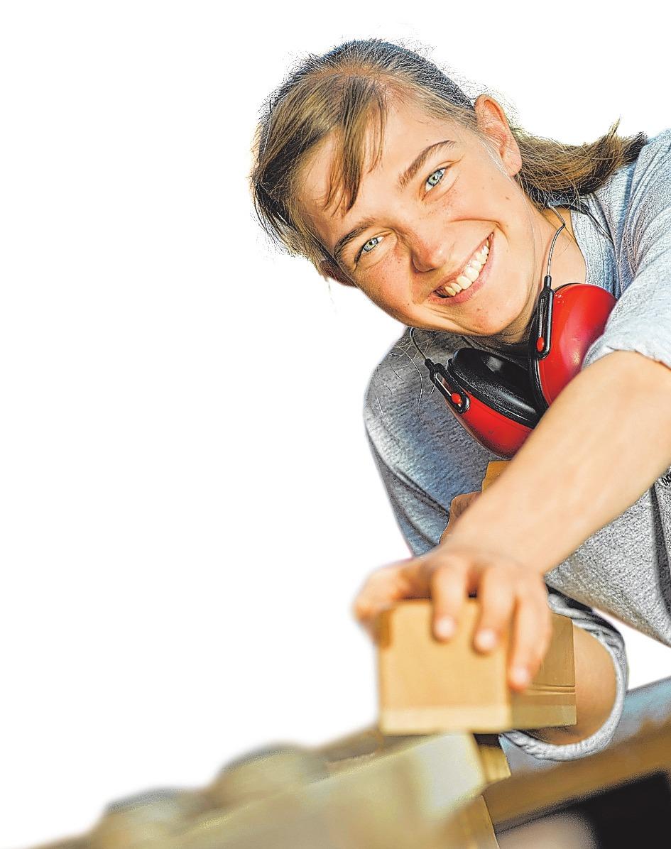 In über 130 Ausbildungsberufen können Jugendliche im Handwerk eigene Talente entfalten.FOTO: CHRISTINE RUDOLF