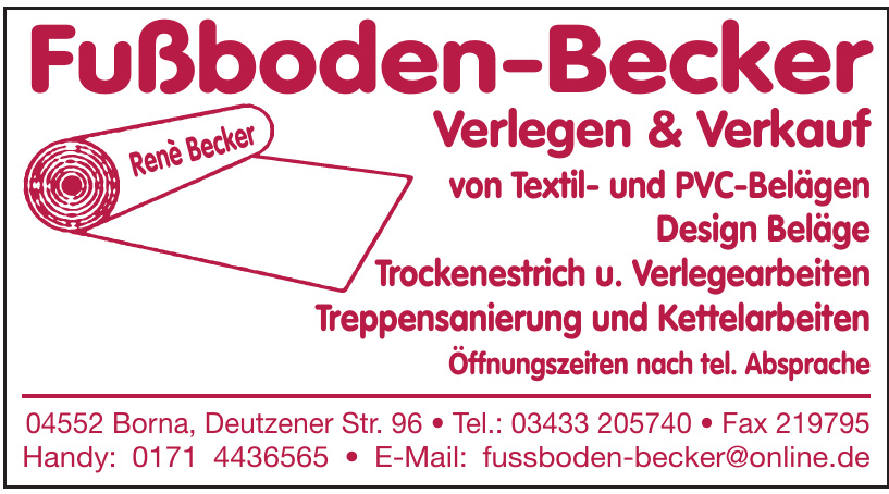 Fußboden-Becker