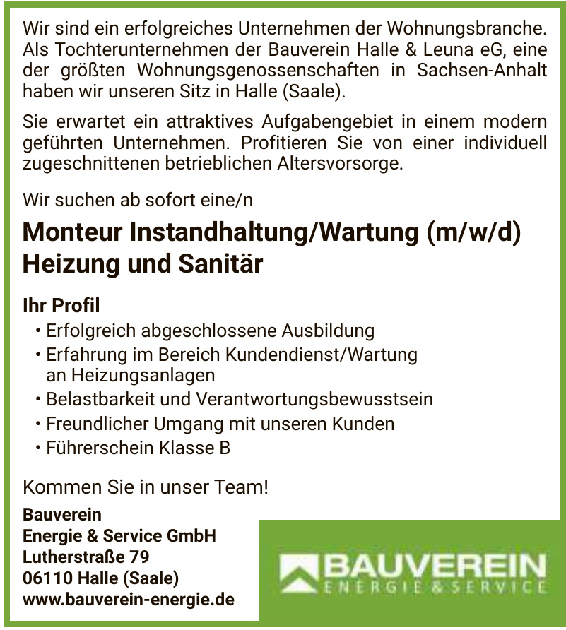 Bauverein Energie & Service GmbH