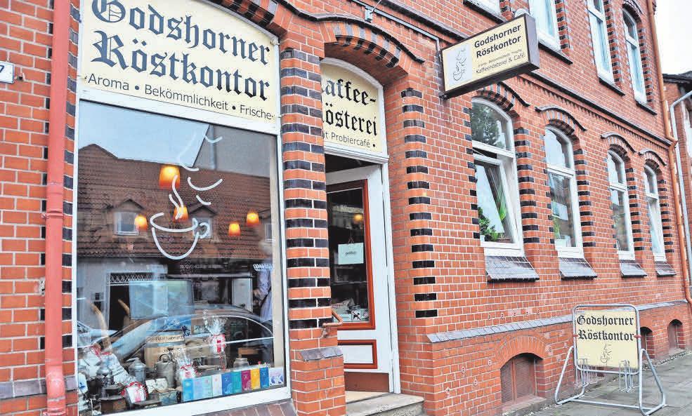 Die Godshorner Kaffee-Rösterei ist in Kirchrode eine Institution.