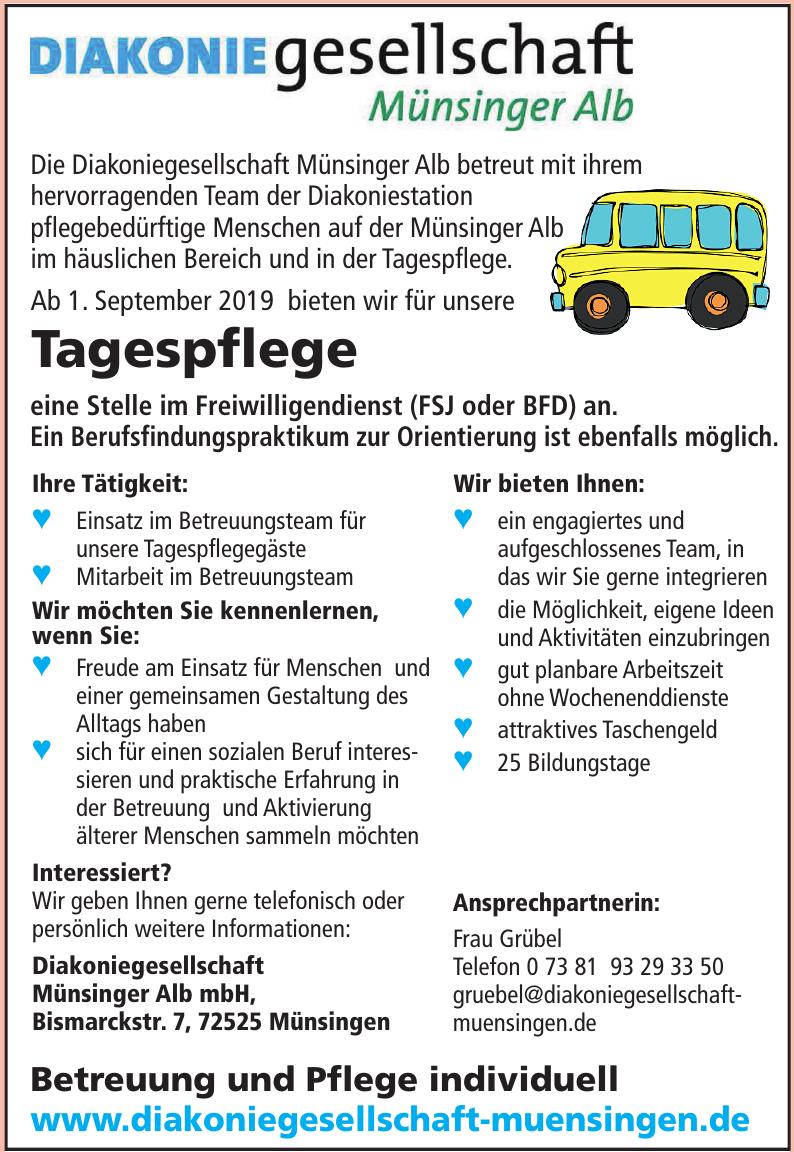 Diakoniegesellschaft Münsinger Alb mbH