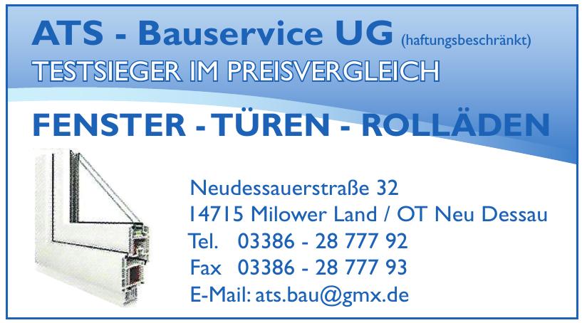 ATS - Bauservice UG