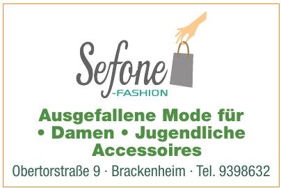 Sefone-Fashion