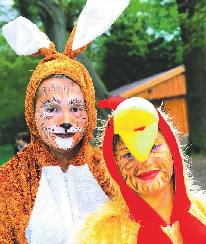 Welches Kind möchte nicht gern vom Osterhasen oder Küken mit Ostereiern beschenkt werden?