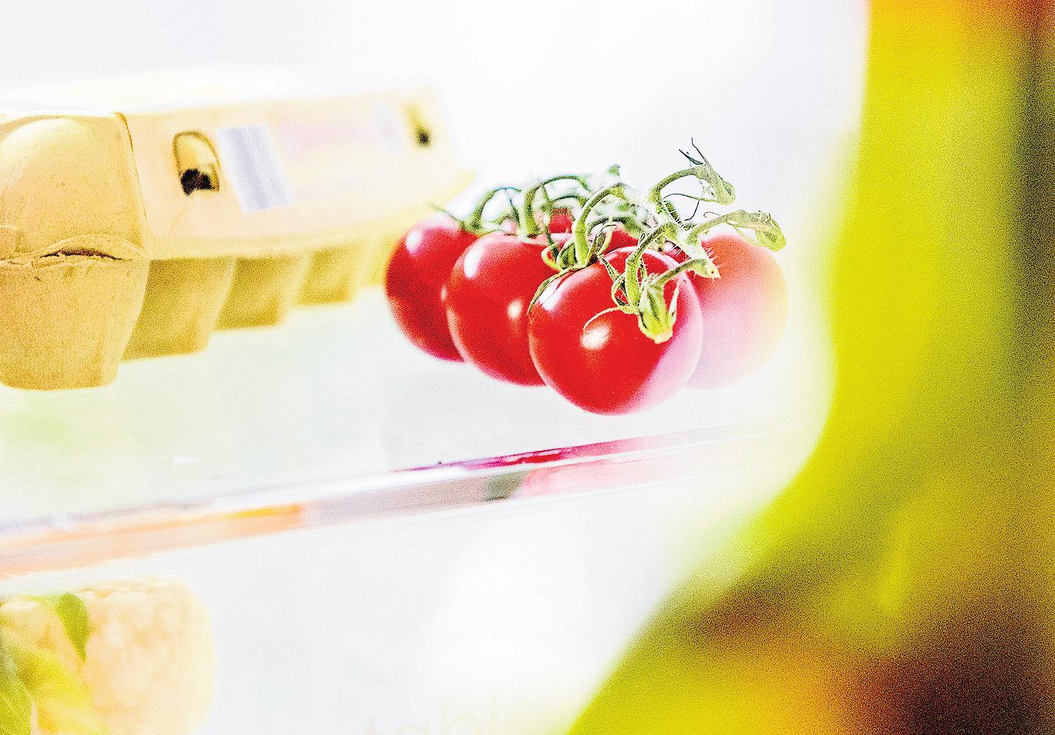 Tomaten sollten nicht im Kühlschrank aufbewahrt werden, da sie dort ihr Aroma verlieren. FOTOS: DPA