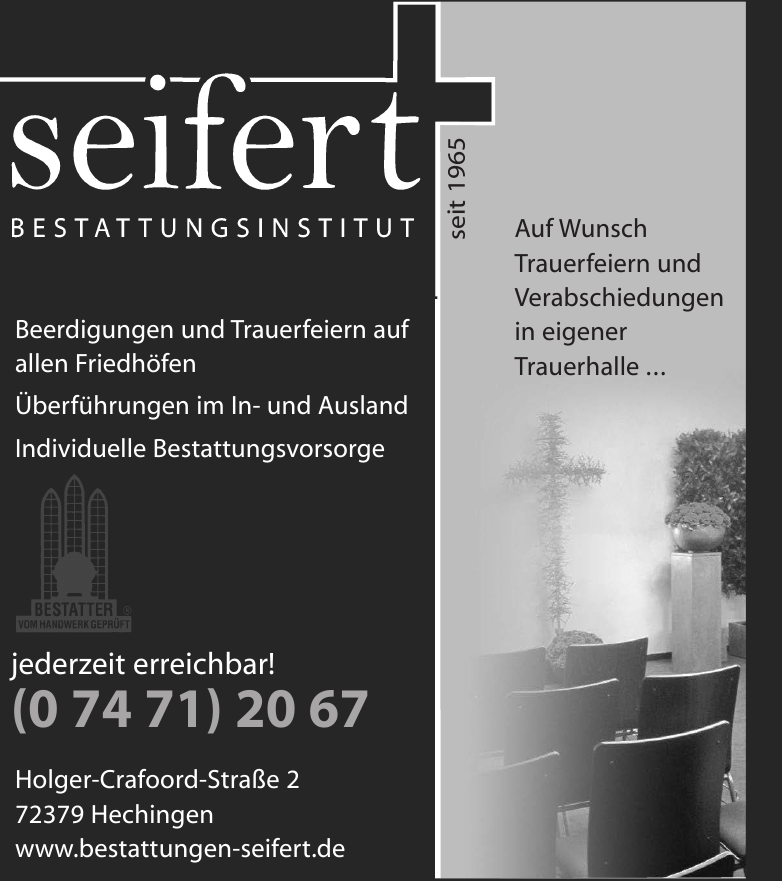 Bestattungsinstitut Seifert