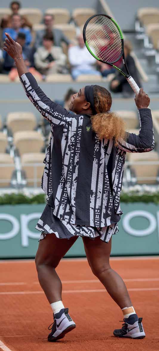 Serena Williams, in den Augen von Dominic Thiem eine Diva.Foto: Jürgen Hasenkopf