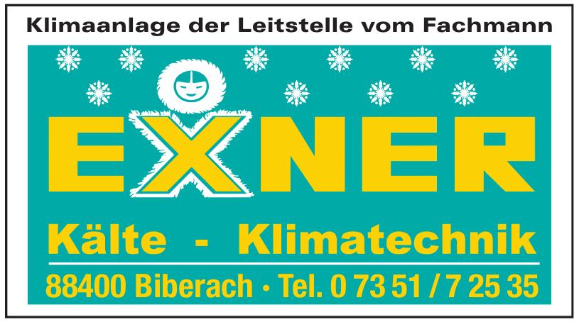 Exner  Kälte-Klimatechnik