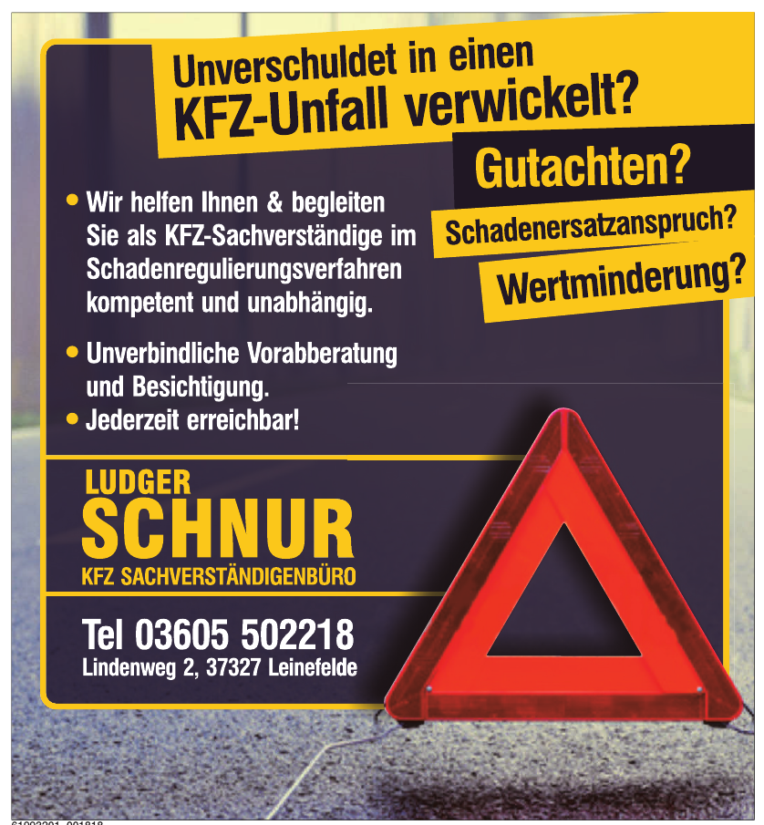 Ludger Schnur KFZ Sachverständigenbüro