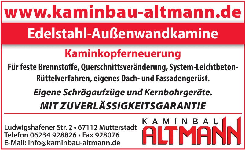 Kaminbau Altmann