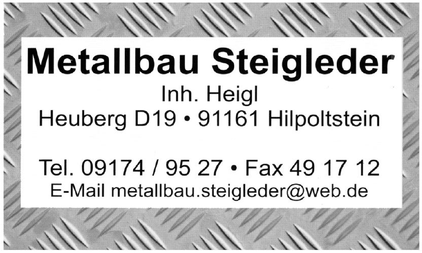 Metallbau Steigleder