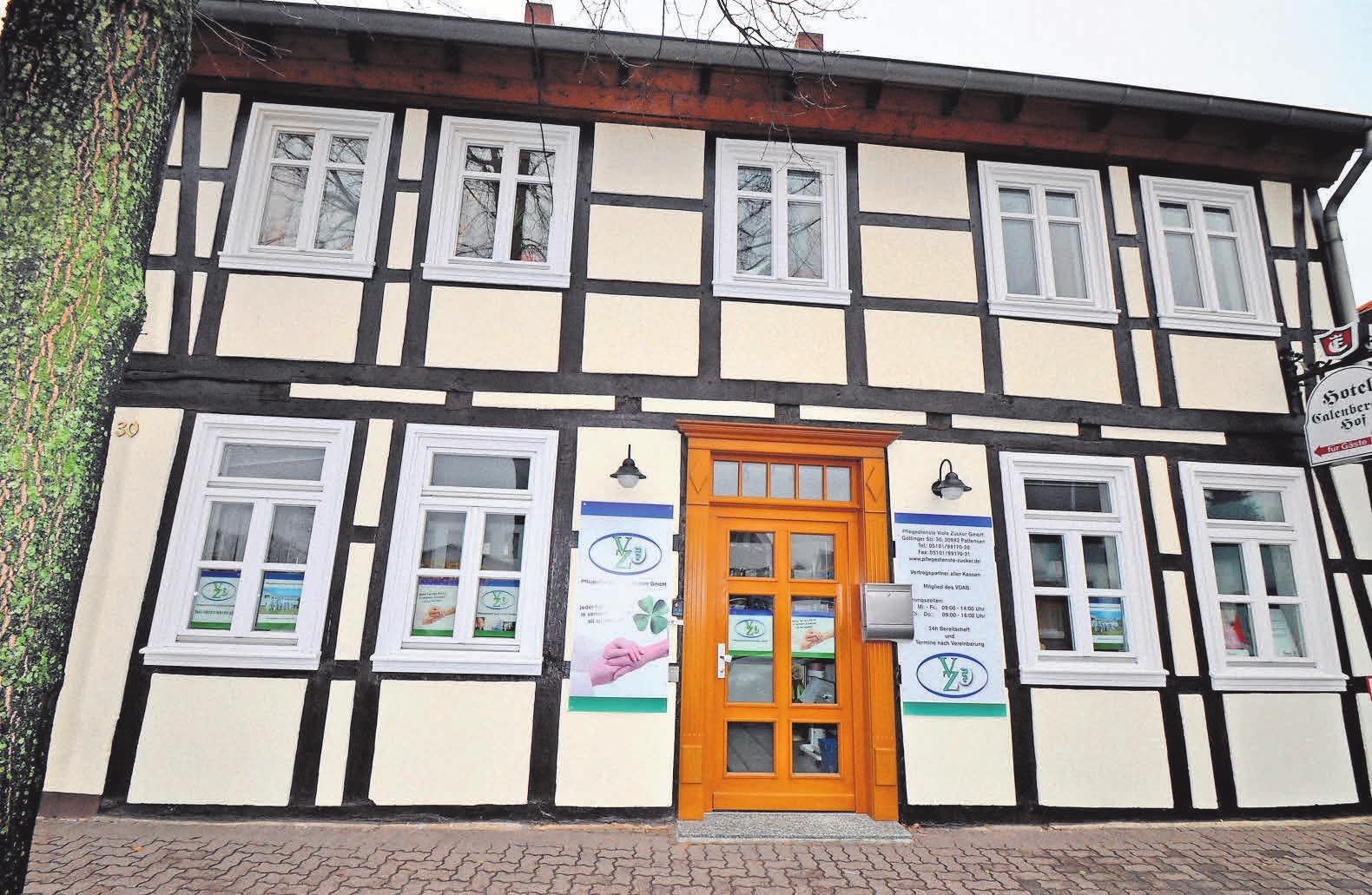 Der Pflegedienst Viola Zucker mit Sitz an der Göttinger Straße 30 in Pattensen ist sehr gut erreichbar. Parkplätze sind direkt vor dem Büro zu finden.