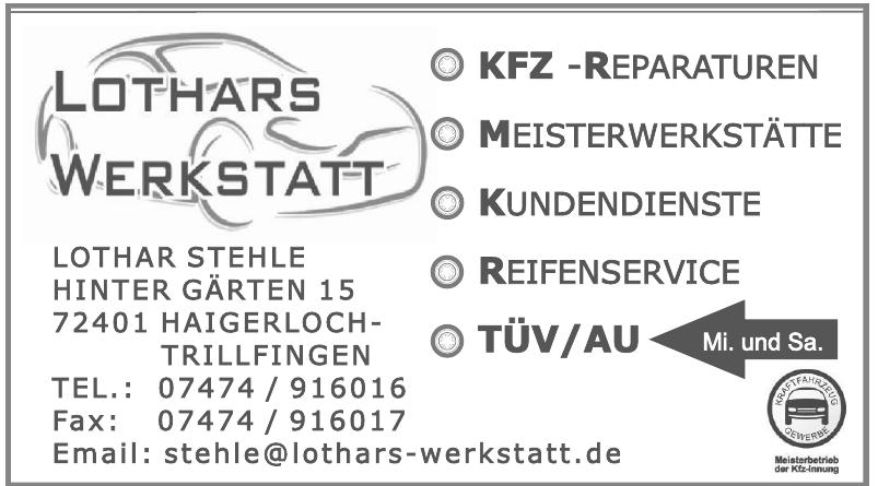 Lothar Stehle