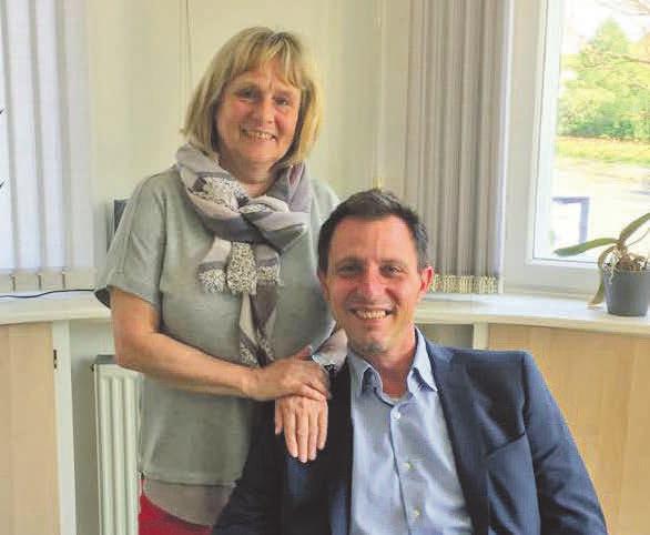 Cornelia Bienas hat die Leitung des Peiner Stadtbüros an Michael Bruno übergeben. Fotos (6): privat