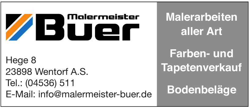 Buer Malermeister