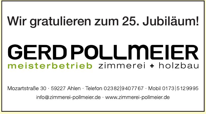 Gerd Pollmeier Meisterbetrieb Zimmerei + Holzbau