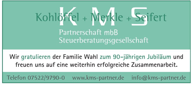 Kohlöffel + Merkle + Seifert Partnerschaft mbH Steuerberatungsgesellschaft