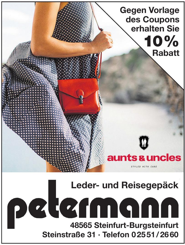 Leder- und Reisegepäck Petermann
