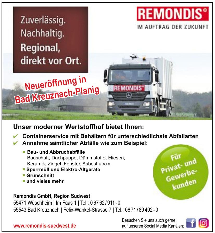 Remondis GmbH - Region Südwest