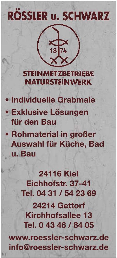 Rössler und Schwarz Steinmetz- und Natursteinbetriebe GMBH