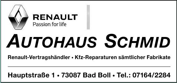 Autohaus Schmid