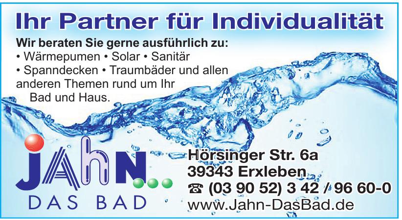 Jahn Das Bad