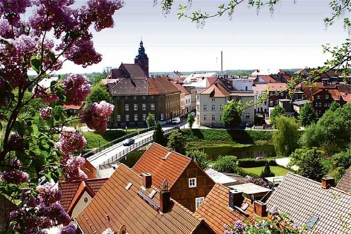 Blick auf die Altastadt von Havelberg Foto: Archiv VS