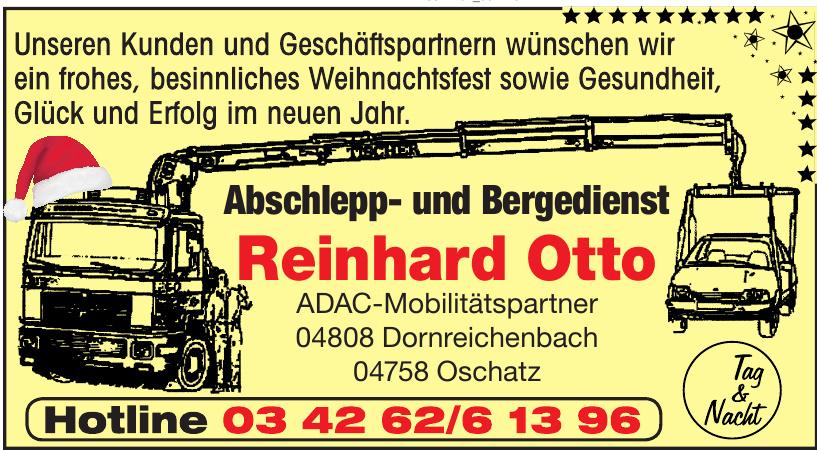 Reinhard Otto Abschlepp- und Bergedienst