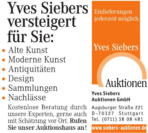Yves Siebers Auktionen GmbH