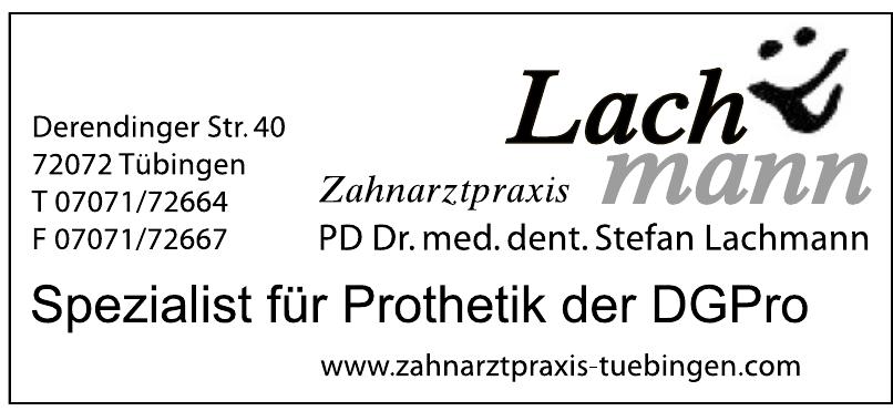 Zahnarztpraxis Lachmann
