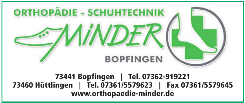 Orthopädie-Schuhtechnik Minder