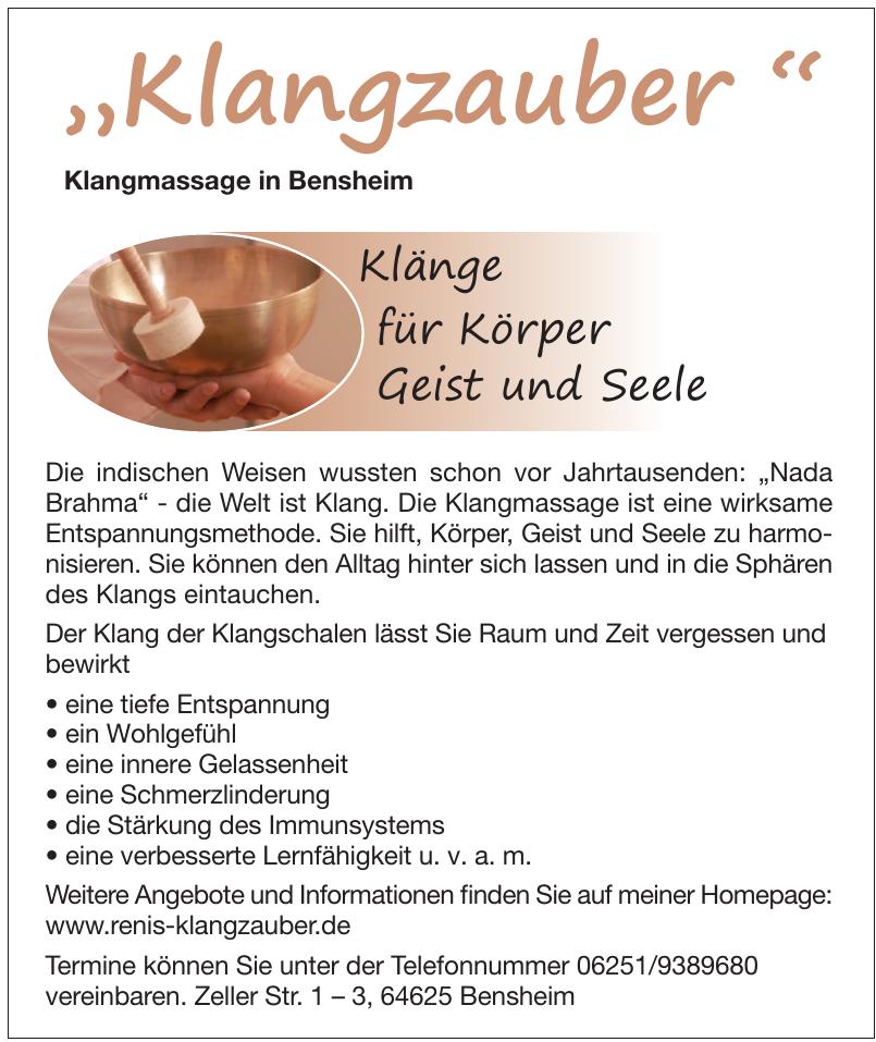 Klangmassage in Bensheim