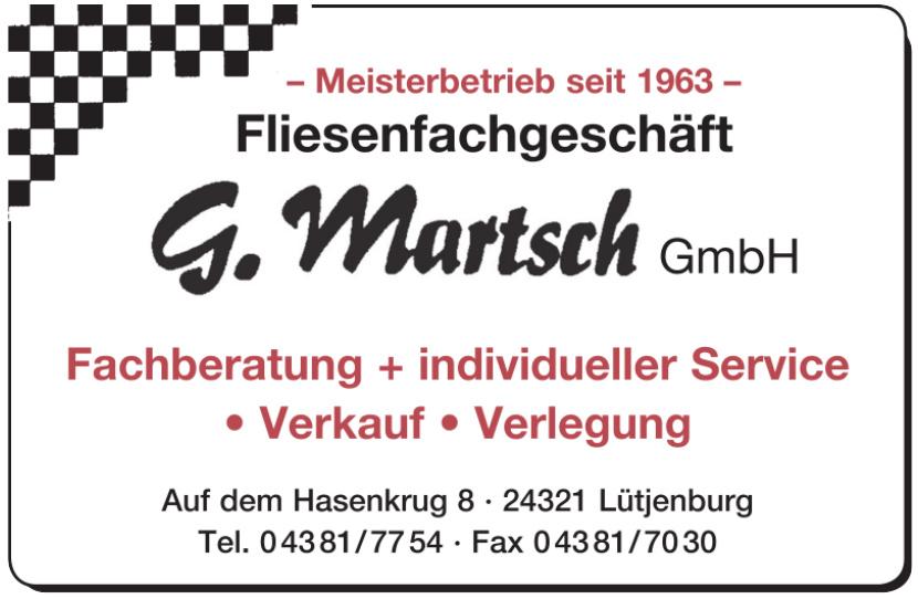 G. Martsch GmbH