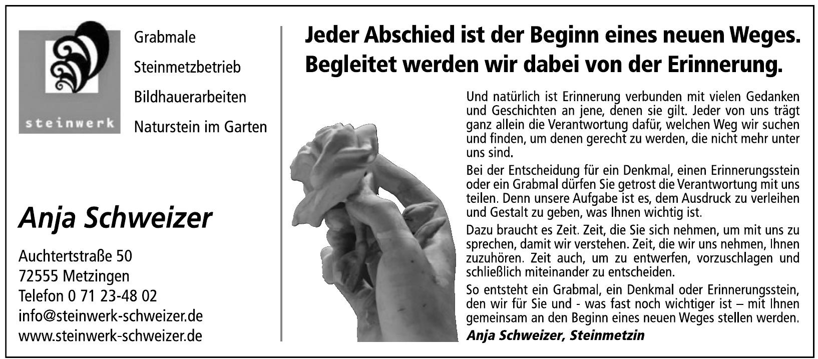 Steinwerk Anja Schweizer Metzingen