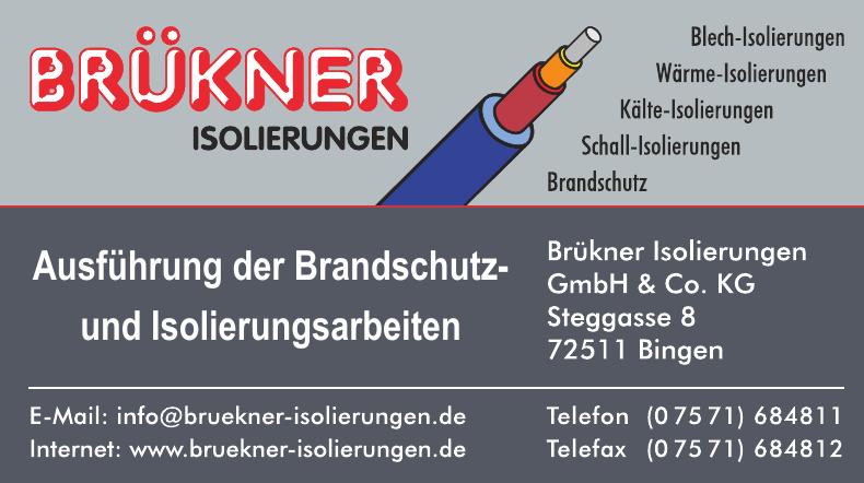 Brükner Isolierungen GmbH & Co. KG