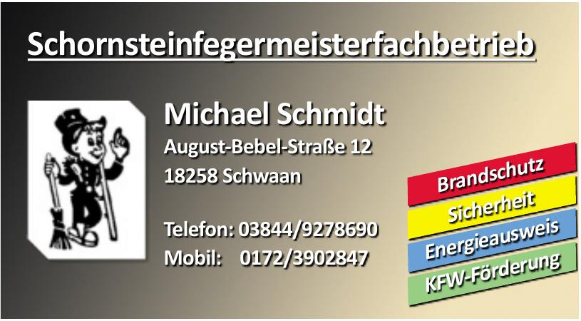 Schornsteinfegermeisterfachbetrieb Michael Schmidt