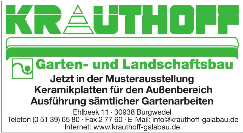 Krauthoff Garten- und Landschaftsbau