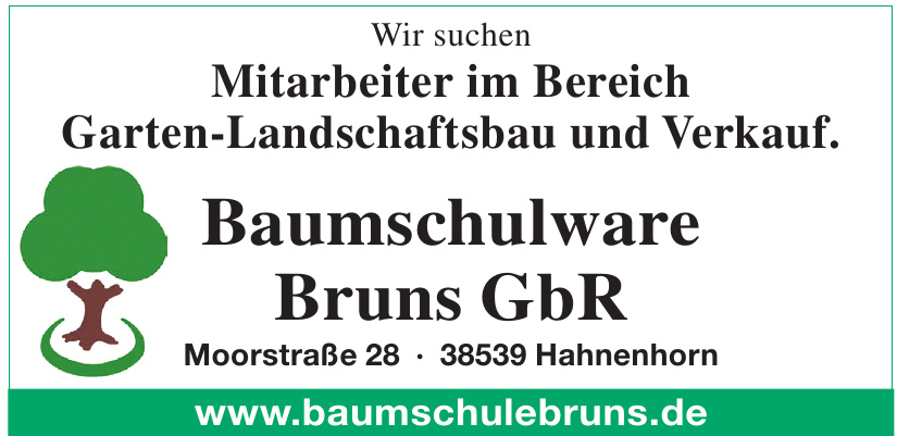 Baumschulware Bruns GbR