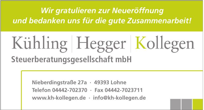 Kühling + Hegger + Kollegen Steuerberatungsgesellschaft mbH