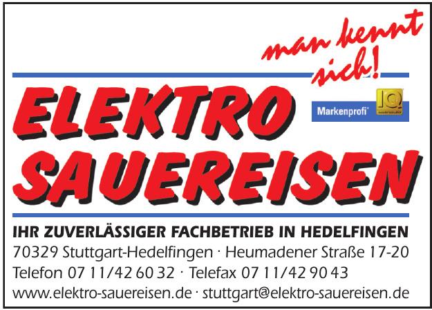 Elektro Sauereisen