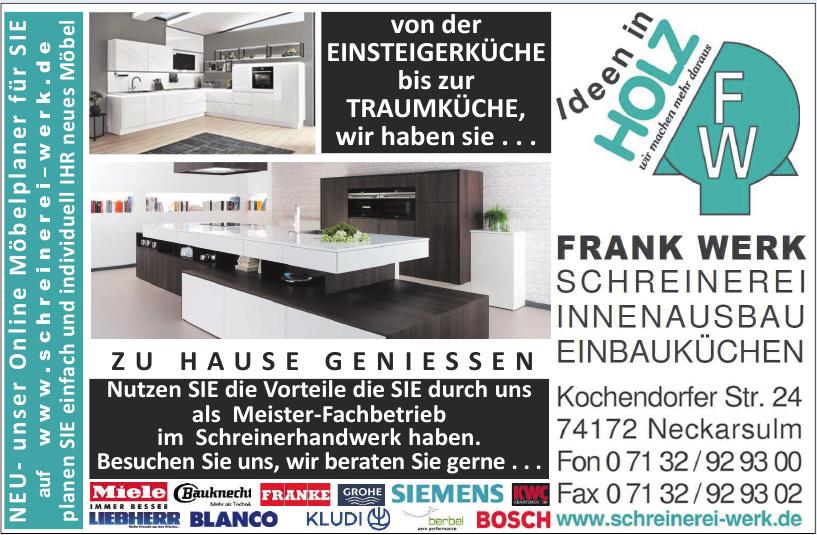 Frank Werk Schreinerei