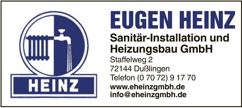 Eugen Heinz Sanitär-Installation und Heizunbsbau GmbH