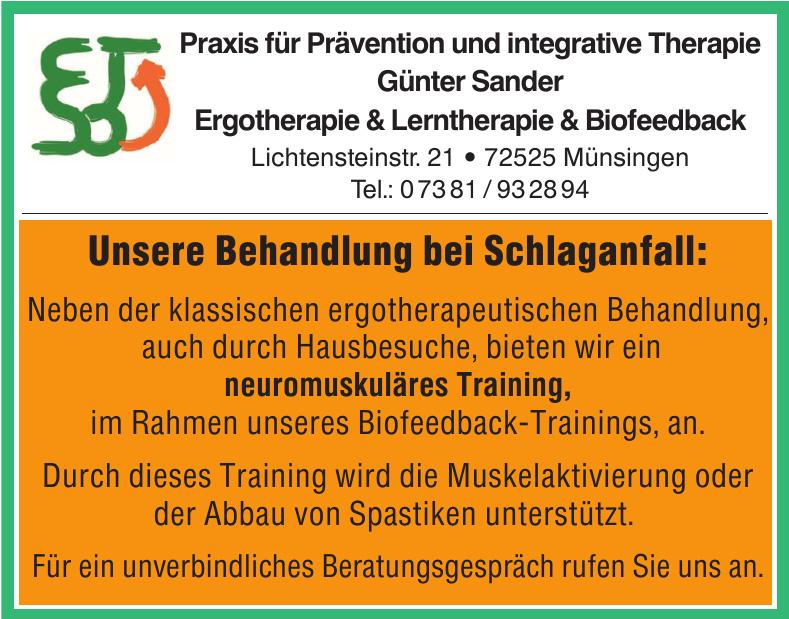 Praxis für Prävention und integrative Therapie