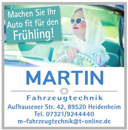 Martin Fahrzeugtechnik