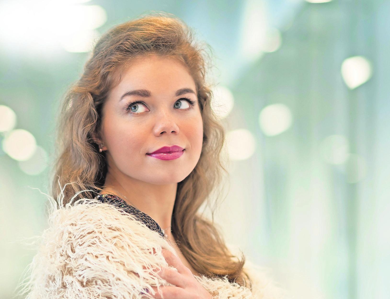 Olena Tokar   Sopran, 1. Januar 2019Foto: Frank Türpe