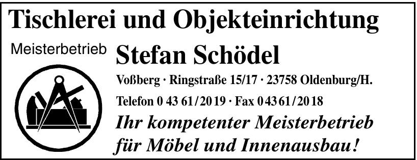 Tischlerei und Objekteinrichtung Stefan Schödel