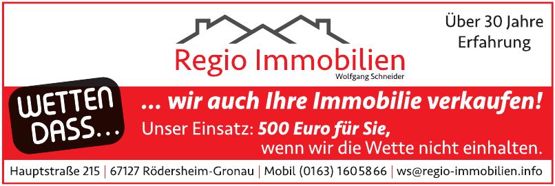 Regio Immobilien Wolfgang Schneider