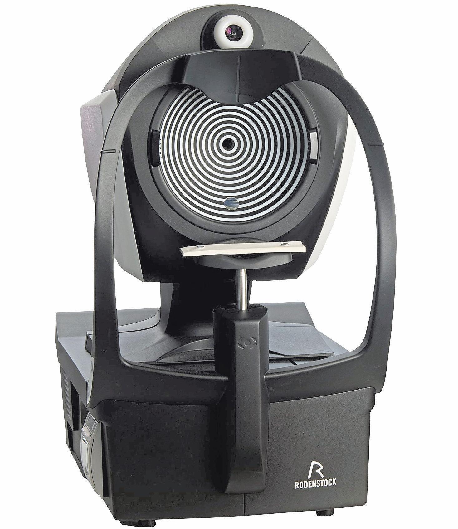 Der DNEye-Scanner 2+ von Rodenstock: 7000 Messpunkte für ein individuellesBrillenglas.