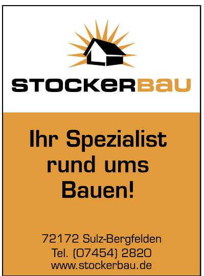 Stockerbau
