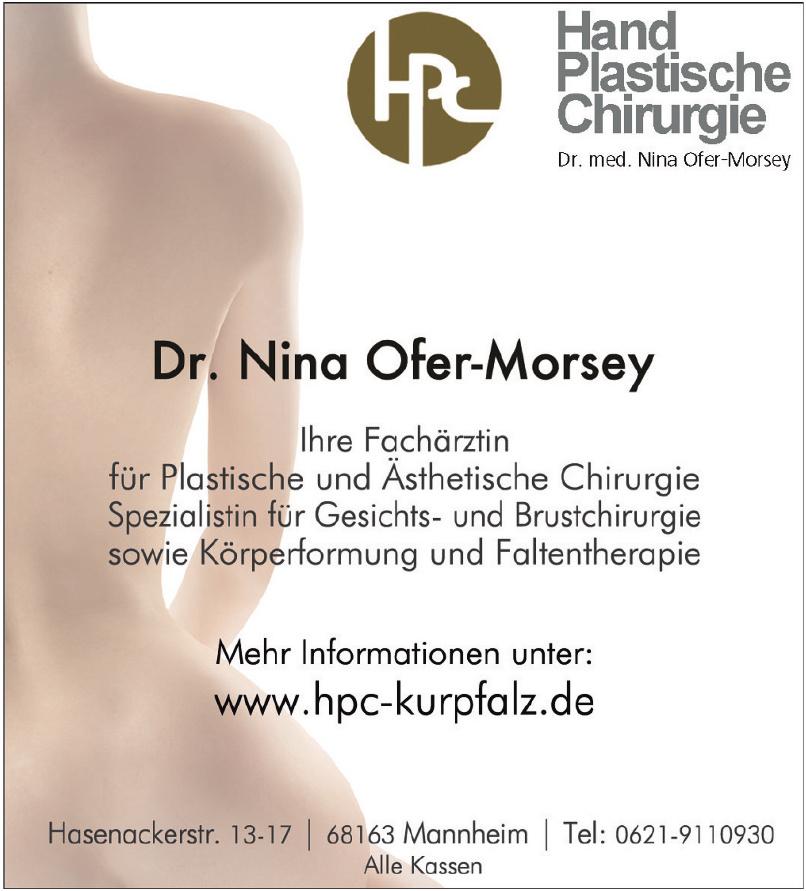 Dr. Nina Ofer-Morsey